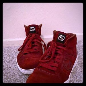 """Gucci """"REBOUNDS"""" mid/high top Sneakers"""